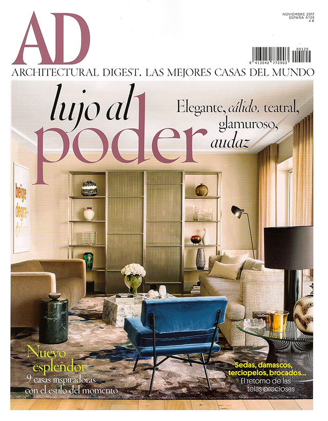 AD Espana Spain november 2017 Caroline Legrand Design