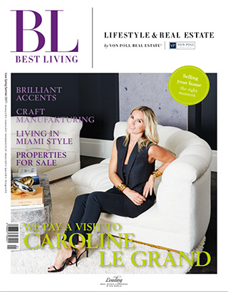 Caroline Legrand Best Living Magazine
