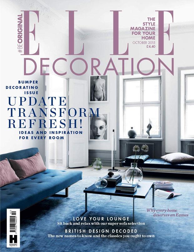 Magazine Caroline Legrand Residence Nl Elle Decoration October 2017