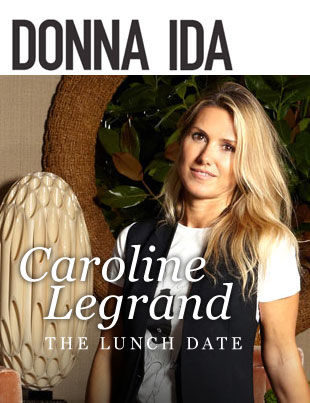caroline Legrand Donna Ida Lunch Date